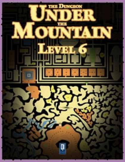 Role Playing Games - The Dungeon Under the Mountain: Level 6