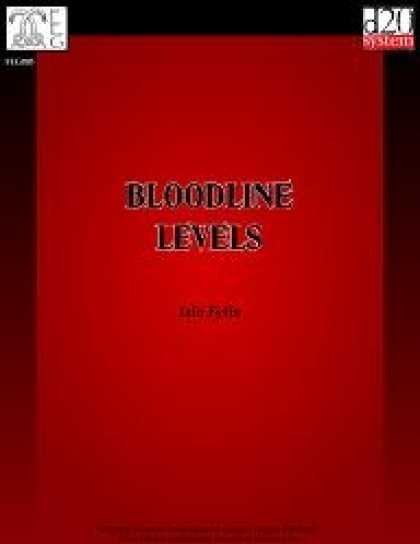 Role Playing Games - Bloodline Levels