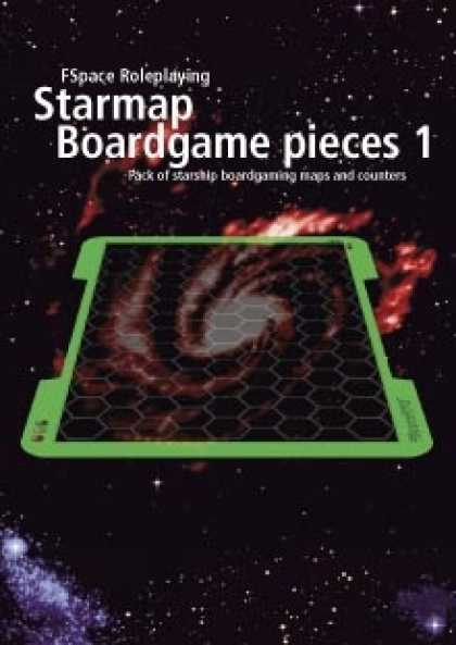 Role Playing Games - FSpaceRPG Starmap Boardgame pieces 1