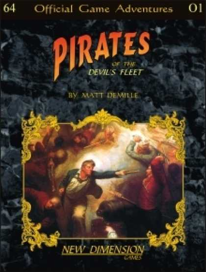 Role Playing Games - Pirates: The Devil's Fleet--adventure pack O1