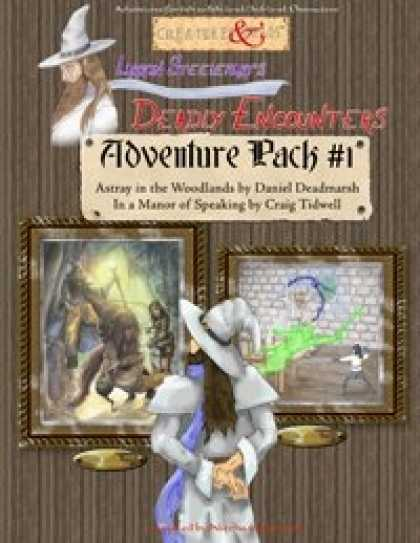 Role Playing Games - Adventure Pack #1 (Deadly Encounters)