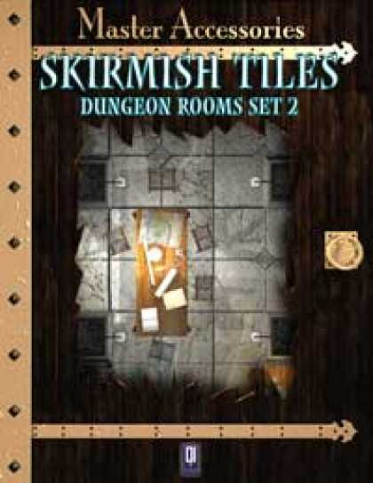 Role Playing Games - Skirmish Tiles: Dungeon Rooms Set 2
