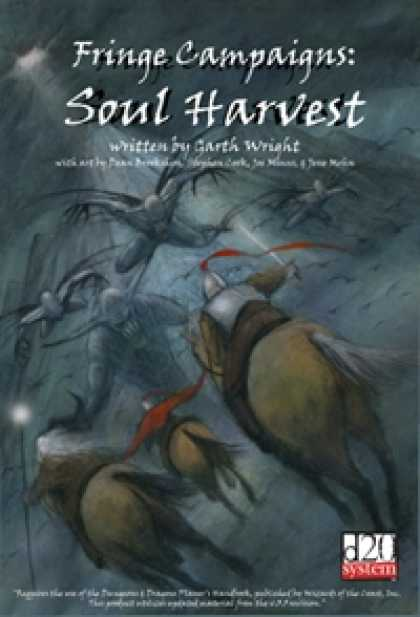 Role Playing Games - Fringe Campaigns: Soul Harvest