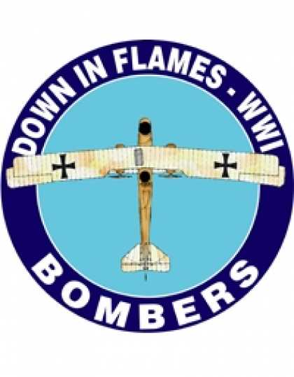 Role Playing Games - Down In Flames - WWI - Bombers
