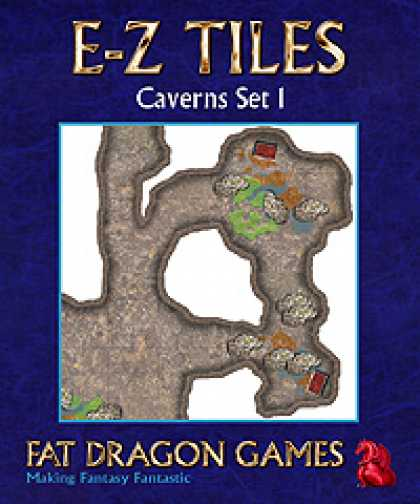 Role Playing Games - E-Z TILES: Caverns Set 1