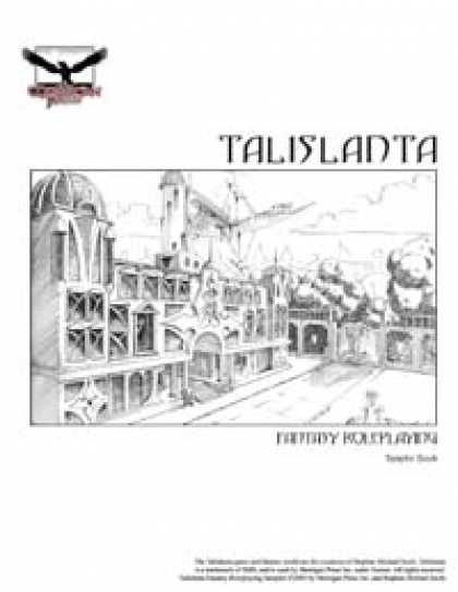 Role Playing Games - Talislanta 4th Edition Sampler