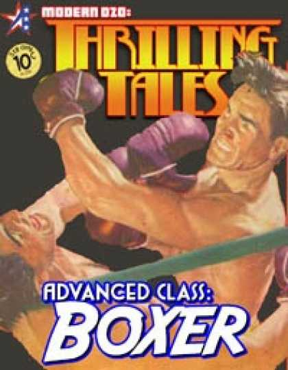 Role Playing Games - THRILLING TALES: Advanced Class-BOXER