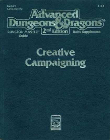 Role Playing Games - Creative Campaigning