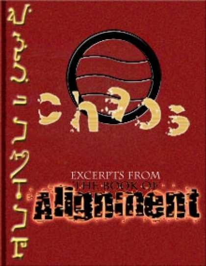 Role Playing Games - The Book of Alignment: Chaos