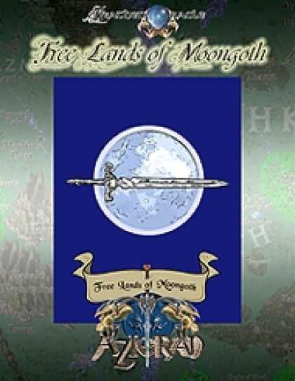 Role Playing Games - Free Lands of Moongoth Brochure