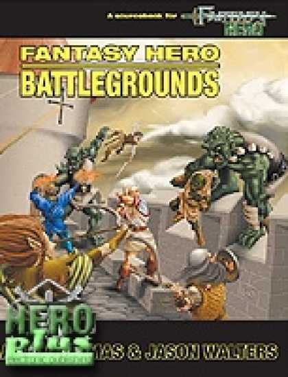 Role Playing Games - Fantasy Hero Battlegrounds - PDF