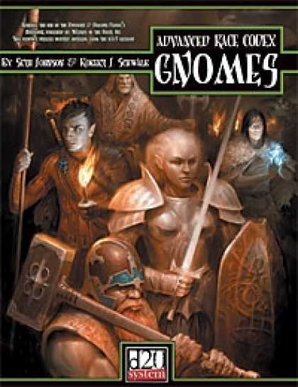 Role Playing Games - Advanced Race Codex: Gnomes
