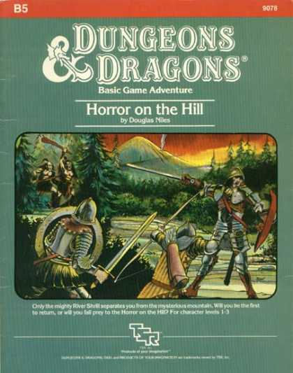 Role Playing Games - Dungeons & Dragons Horror on the Hill