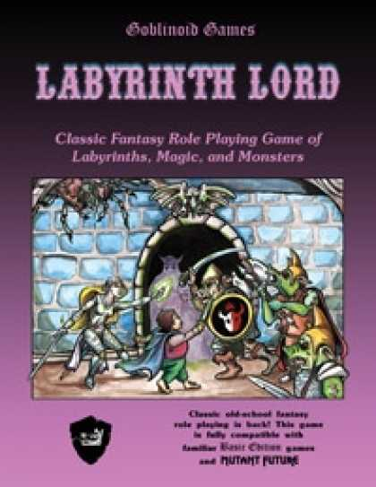 Role Playing Games - Labyrinth Lord