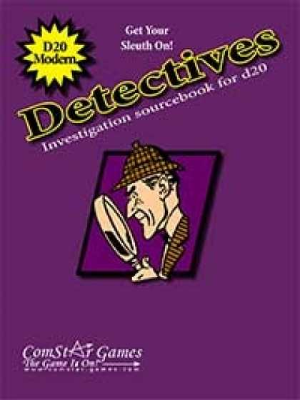 Role Playing Games - Detectives: Investigation Sourcebook for d20 Modern