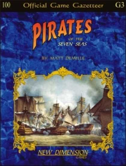 Role Playing Games - Pirates: The Seven Seas--Supplement G3