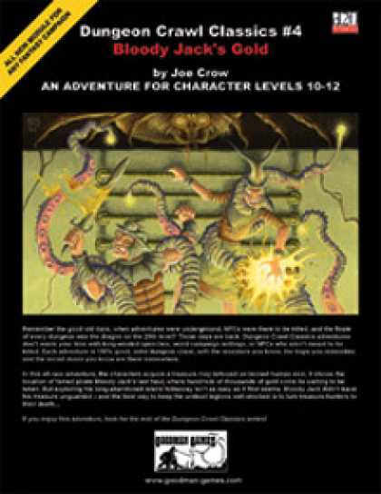 Role Playing Games - Dungeon Crawl Classics #4: Bloody Jack's Gold