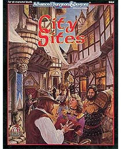 Role Playing Games - City Sites