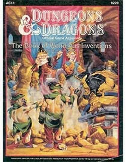 Role Playing Games - AC11 - The Book of Wonderous Inventions