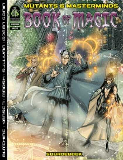 Role Playing Games - Book of Magic