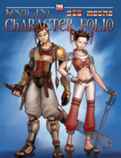 Role Playing Games - BESM d20 Character Folio