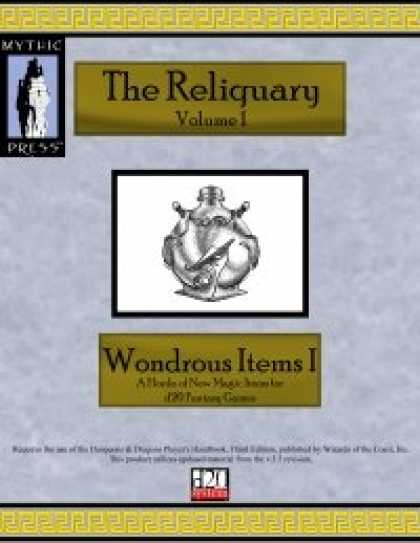 Role Playing Games - Reliquary Volume I
