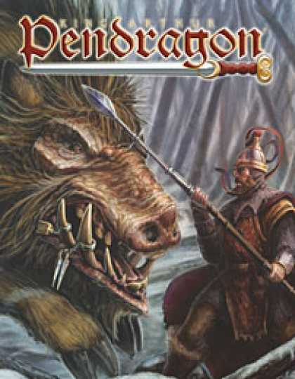 Role Playing Games - King Arthur Pendragon: 5th Edition