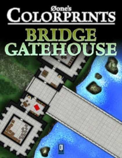 Role Playing Games - 0one's Colorprints #4: Bridge Gatehouse