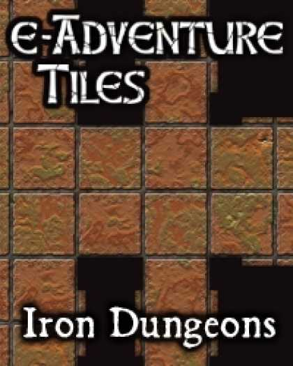 Role Playing Games - e-Adventure Tiles: Iron Dungeons