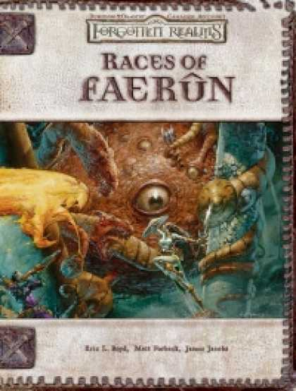 Role Playing Games - Races of Faerun