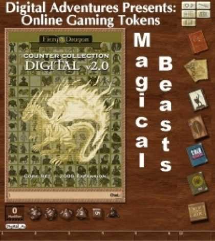 Role Playing Games - Online Gaming Tokens Pack #6: Magical Beasts