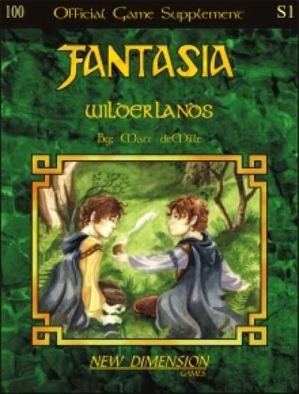 Role Playing Games - Fantasia: Wilderlands--Supplement S1