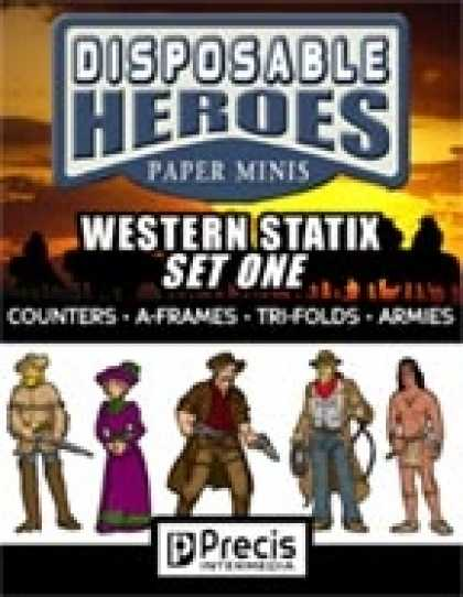 Role Playing Games - Disposable Heroes Western Statix 1