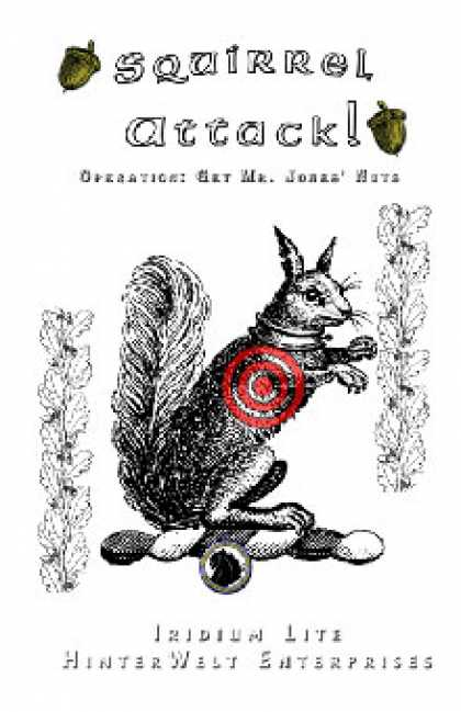 Role Playing Games - Squirrel Attack! Operation: Get Mr. Jones' Nuts