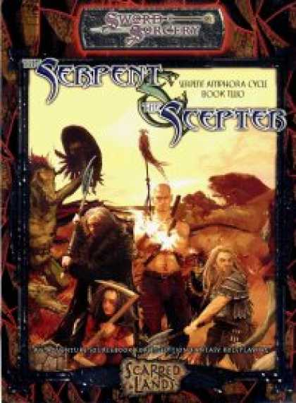 Role Playing Games - The Serpent & The Scepter: Serpent Amphora Cycle Book Two