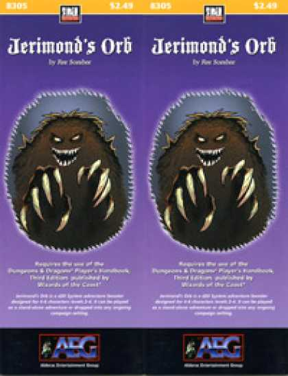 Role Playing Games - Jerimond's Orb
