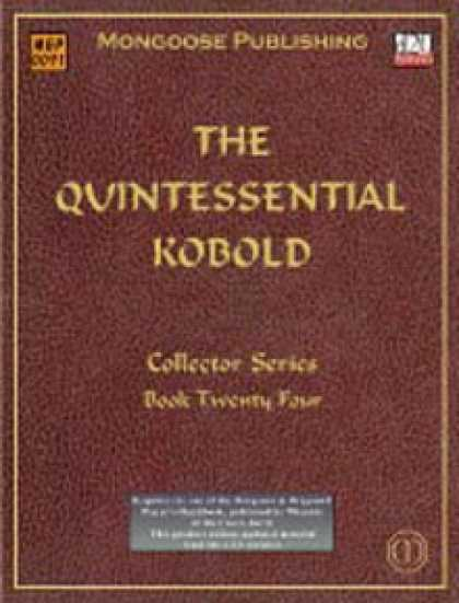 Role Playing Games - The Quintessential Kobold