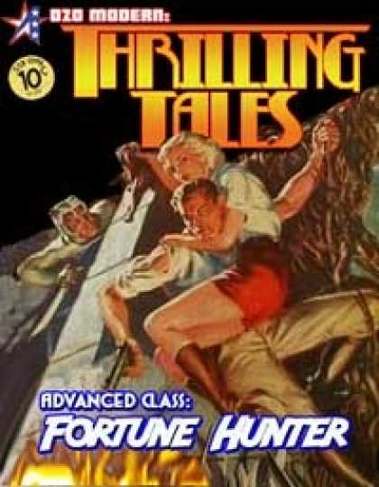 Role Playing Games - THRILLING TALES: Advanced Class- FORTUNE HUNTER