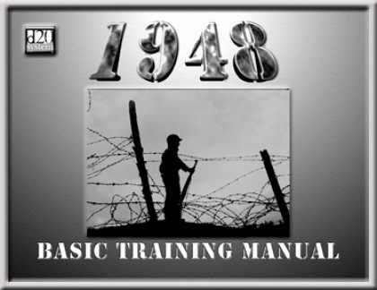 Role Playing Games - 1948: Basic Training Manual