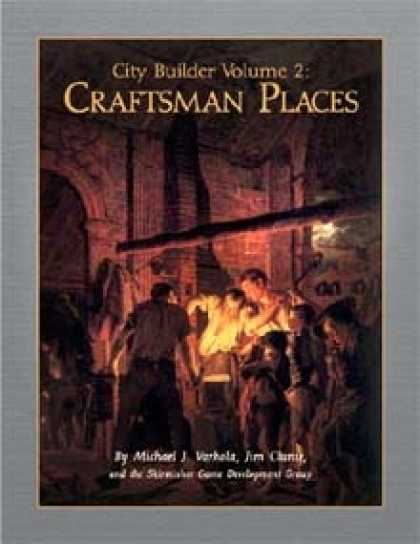 Role Playing Games - City Builder Volume 2: Craftsman Places
