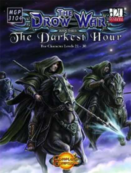 Role Playing Games - The Drow War: Book 3 - The Darkest Hour