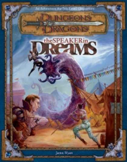 Role Playing Games - The Speaker in Dreams