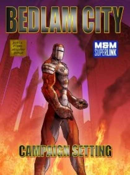 Role Playing Games - Bedlam City