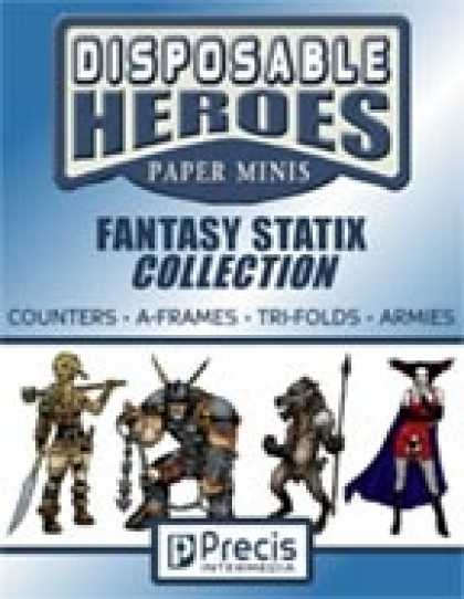 Role Playing Games - Disposable Heroes Fantasy Statix Collection [BUNDLE]