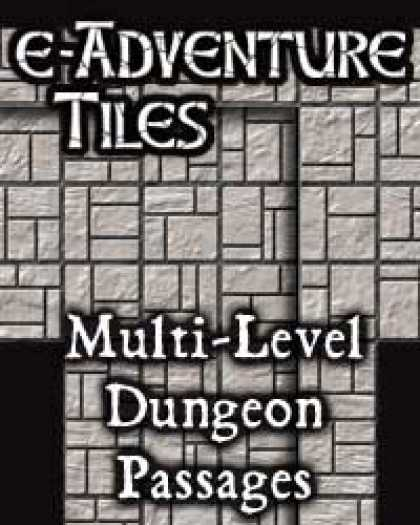 Role Playing Games - e-Adventure Tiles: Multi-Level Dungeon Passages