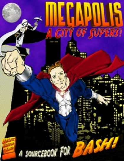 Role Playing Games - Megapolis: A City of Supers