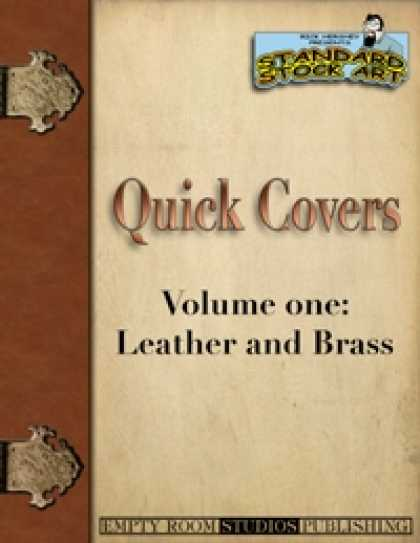 Role Playing Games - Quick Covers- Vol.1: Leather and Brass