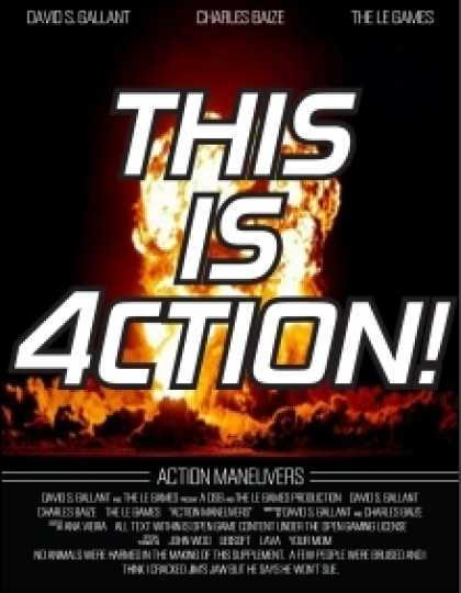 Role Playing Games - Action Maneuvers