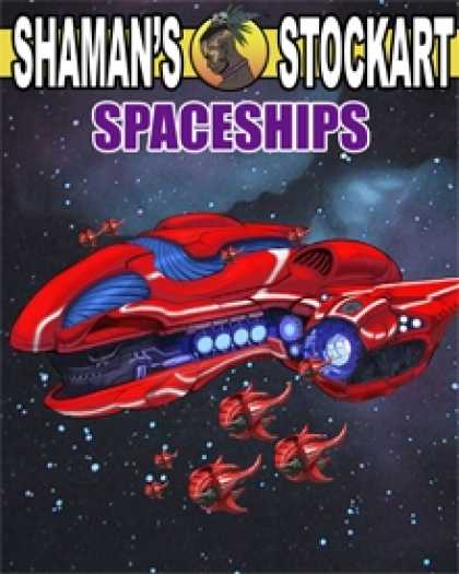 Role Playing Games - Shaman's Stockart Spaceship #1