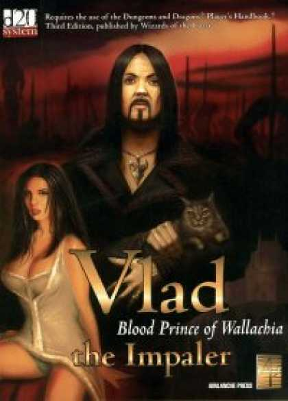 Role Playing Games - Vlad the Impaler - Blood Prince of Wallachia